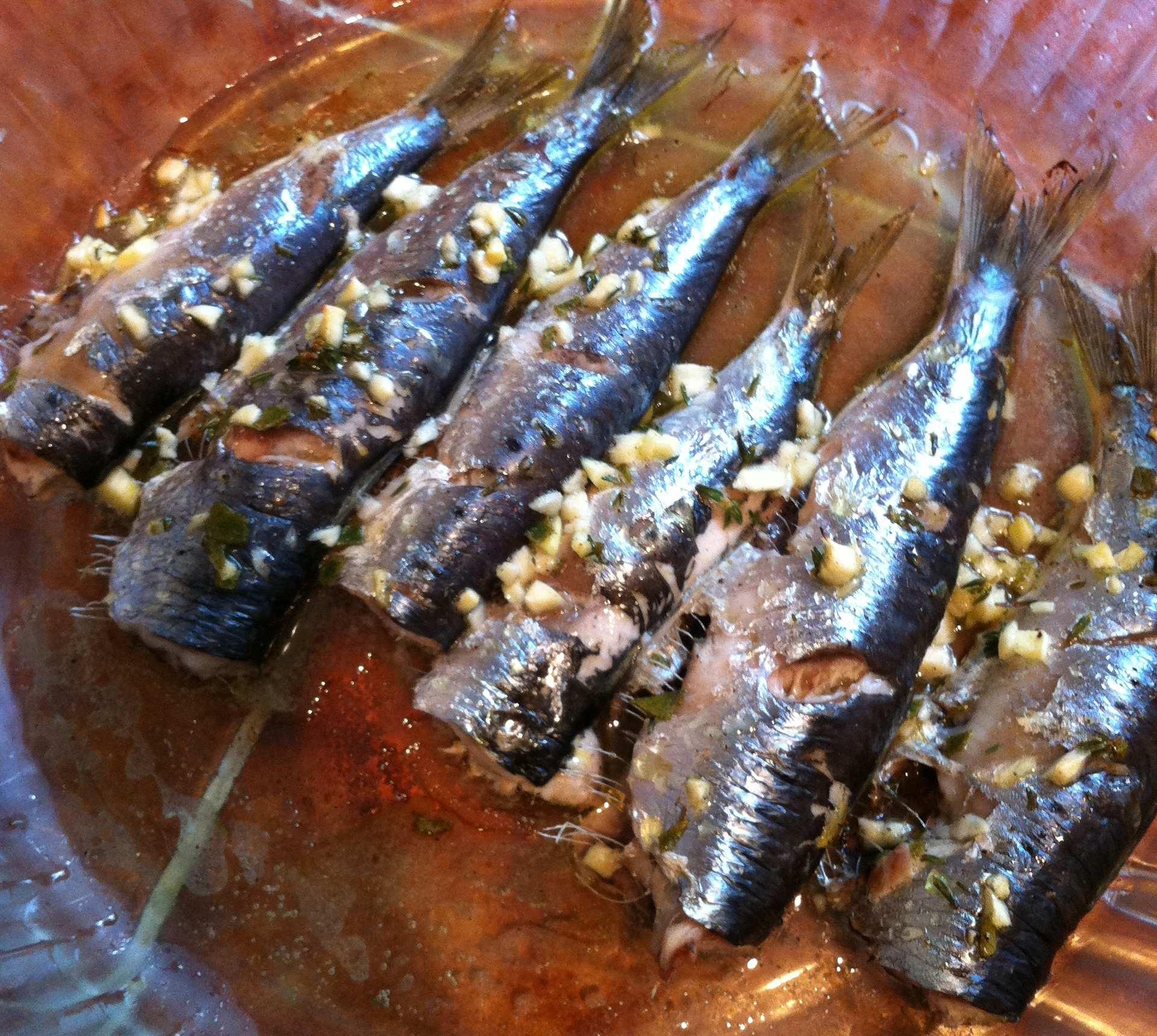 Sardines grill es au four webblocnotes - Sardines au four sans odeur ...