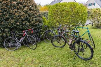 Sortir les vélos, c'est autorisé