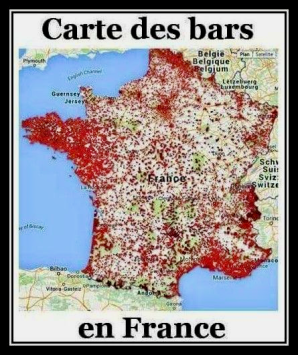 Carte des bars